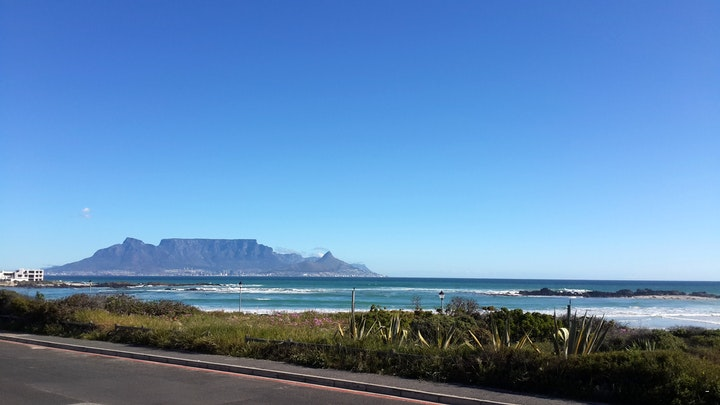 Bloubergstrand Accommodation at Humble Cottage on the Beach   TravelGround
