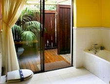 Deck bathroom