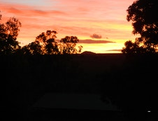 Sunset View from the Cottage