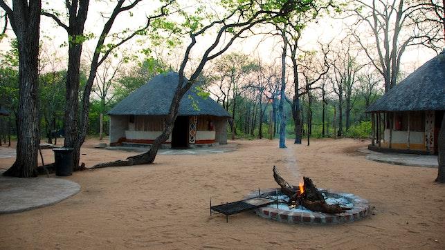 at Baleni Camp   TravelGround