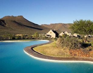 swimming pool in Karoo NP