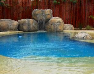 Lovely beach pool