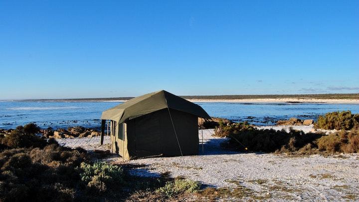 at Remote Locations West Coast Beach Camp | TravelGround