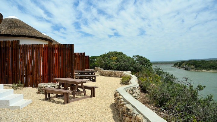 Overberg Accommodation at De Hoop Opstal Campsite Rondavels | TravelGround