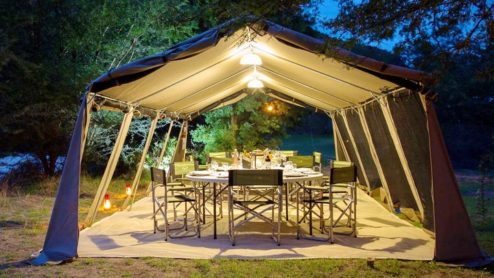 at Gamtoos River Mouth Luxury Tented Camp | TravelGround