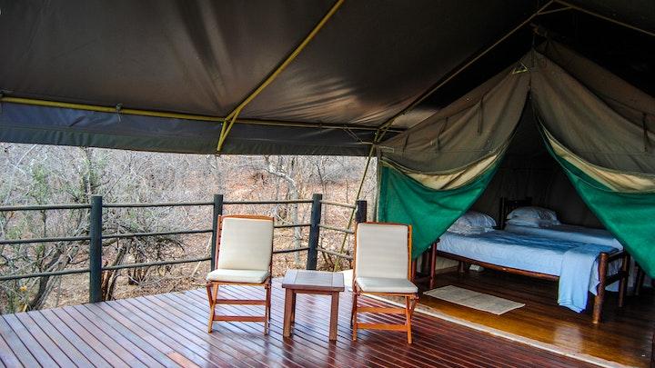 Limpopo Accommodation at Zingela Nature Reserve - Baobab Tented Camp | TravelGround