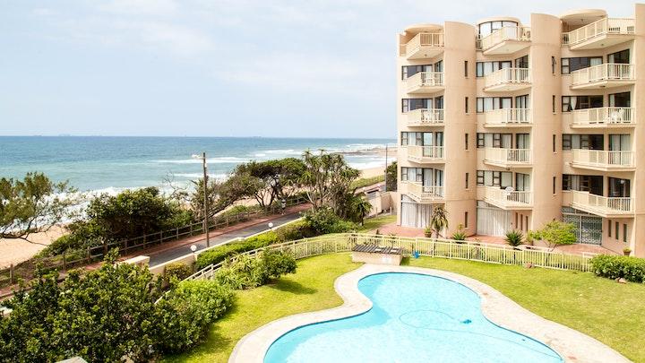 Umdloti Akkommodasie by Umdloti Cabanas Beach Apartment 2 | LekkeSlaap