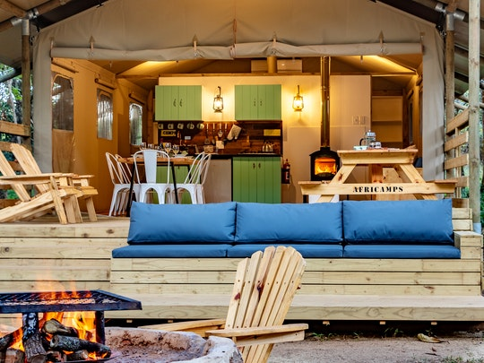Kiepersol Accommodation at AfriCamps at Mackers | TravelGround