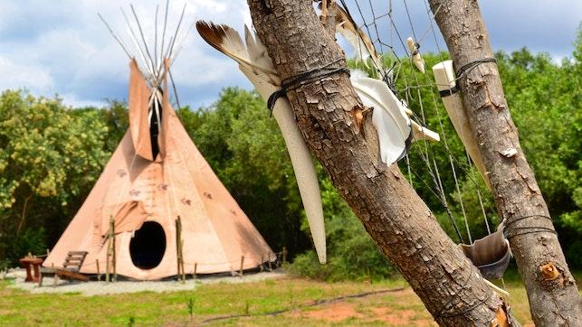 at Lancewood TiPi Lodge | TravelGround