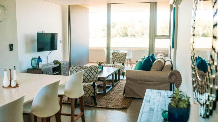 Hillhead Accommodation at Pebble Beach 210   TravelGround